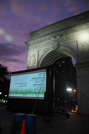 Films on the Green - Big Blue Screening 01