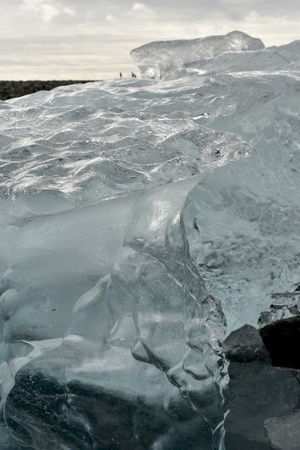 Jokulsarlon Ice Fields - Ice Close-Up 1