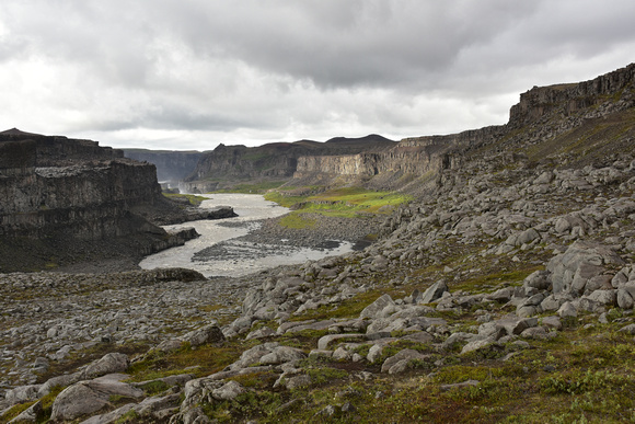 Dettifoss Waterfall - Arena of Cliffs