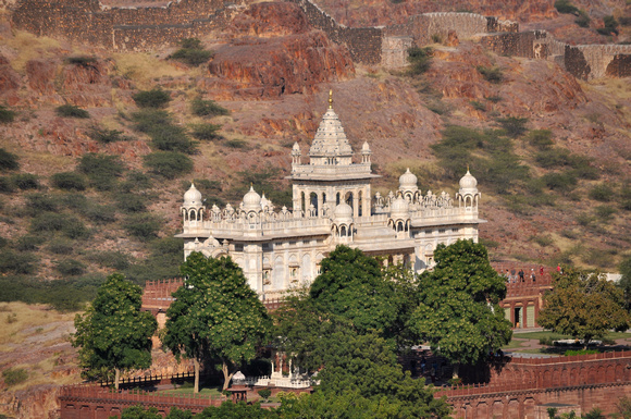 Jaswant Thada from Afar