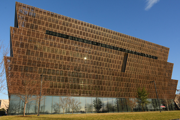 National Museum of African American History and Culture - Sun Reflection