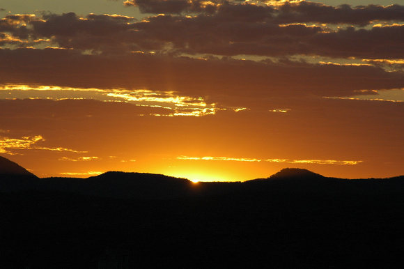 Sunset over Alice Springs 3