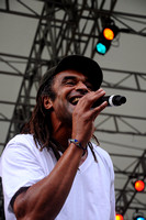 Yannick Noah in Central Park 2009
