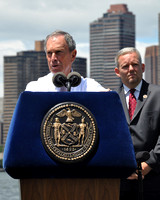 Mayor Mike Bloomberg at the Make Music NY Press Conference