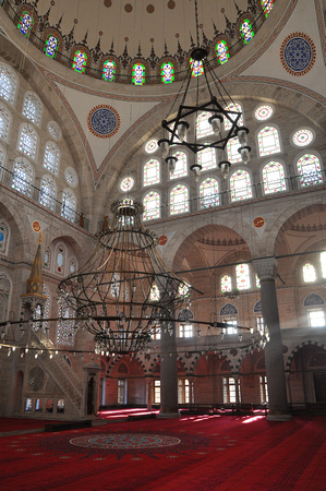 Mihrimah Sultan Mosque Beam of Light