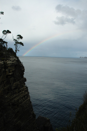 Rainbow and Cliff 1
