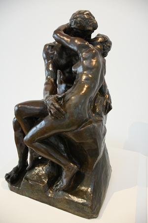 The Kiss by Auguste Rodin 2
