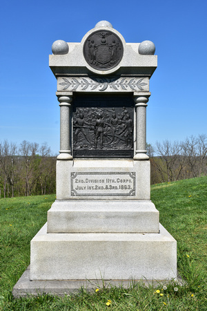 2nd Division 11th Corps Memorial at Gettysburg