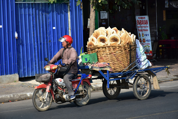 Flat Bread Delivery by Motorbike