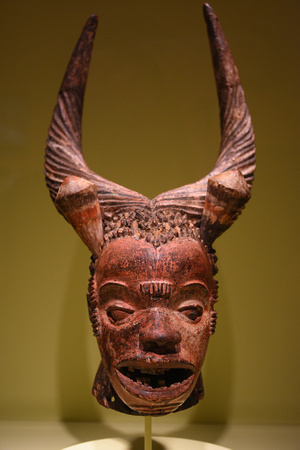 Crest Mask from Nigeria