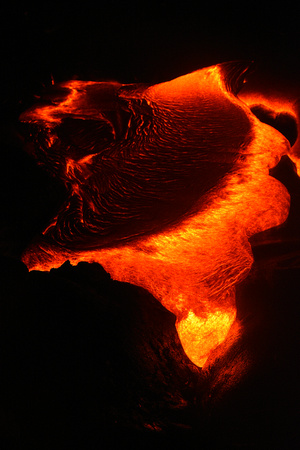 Red Hot Flowing Lava 81