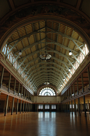 Inside Royal Exhibition Building 1