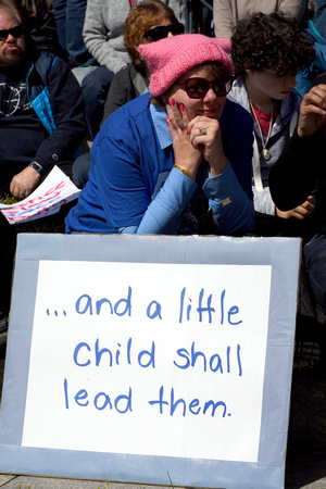 March for Our Lives 116 - And a Little Child Shall Lead Them