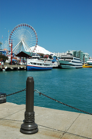 Boats and Navy Pier 1