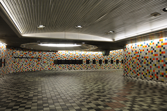 Multicolored Tiles - Metro Station