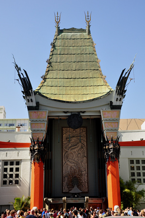 Chinese Theater Entrance 2