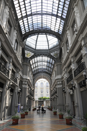 Alley with Glass Roof