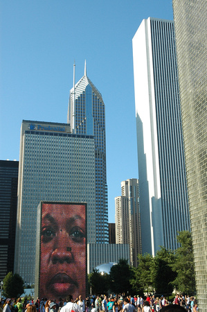 Big Face and Buildings