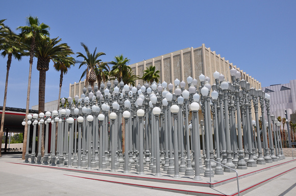 Urban Light by Chris Burden -by Day 1