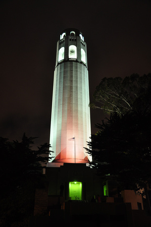 Coit Tower by Night 1