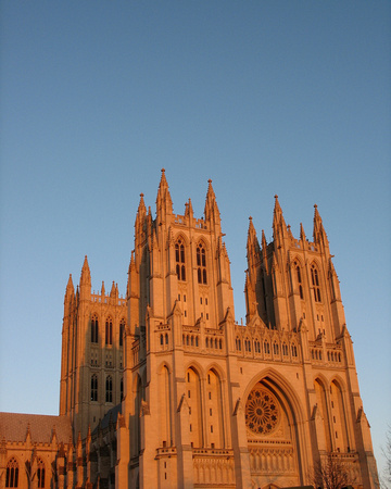 National Cathedral at Dusk 1