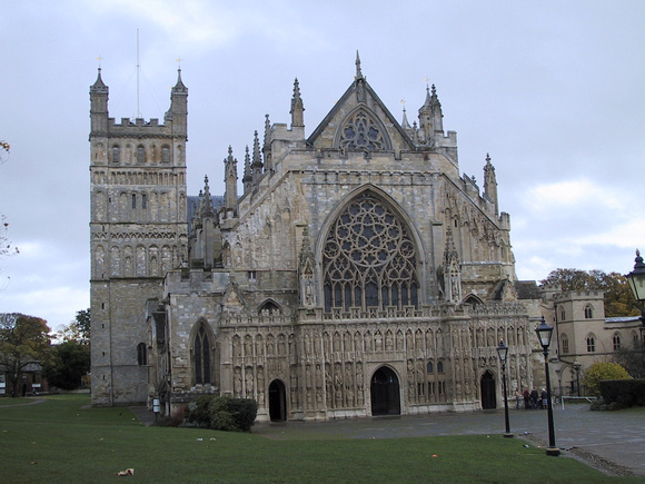 Exeter Cathedral by Day