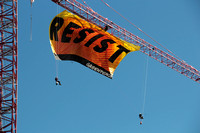 RESIST Greenpeace Stunt 2017