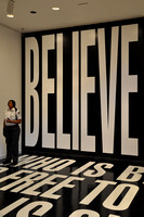 Belief Plus Doubt by Barbara Kruger