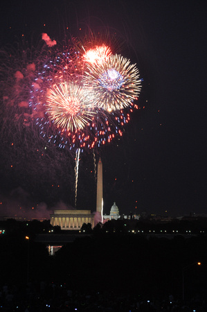 July 4 Fireworks in DC 01