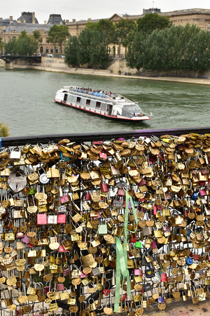 Lots of Locks of Love - Seine River and Bateau Mouche 4